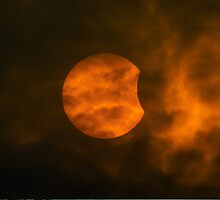 Partial Solar Eclipse by FOTIS MAVROUDAKIS