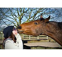 A Loving Kiss Photographic Print