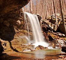 Emory Gap Falls, Frozen Head State Park, Tennessee by Sam Warner