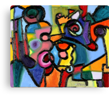 Uncertainty Principle Canvas Print