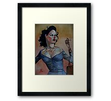 Loraine, J'accuse! (Part 2 of 3) Framed Print