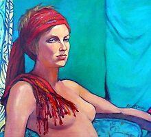 Portrait of Lara by Roz McQuillan
