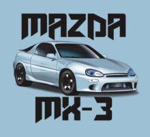 Mazda MX-3 (White font, big text)  by nwdesign