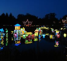 Montreal Botanical Garden Chinese Lanterns 2 by Pierre Frigon