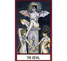 The Devil - Card Photographic Print