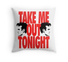 Take Me Out Tonight Throw Pillow