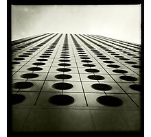 Jardine House, Hong Kong Photographic Print