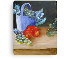 Somber Fruit Canvas Print