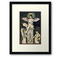 The Devil Framed Print