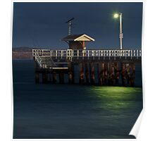 Twilight, Pt Lonsdale Pier Poster