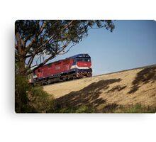 ruralscapes #116, commuter Canvas Print