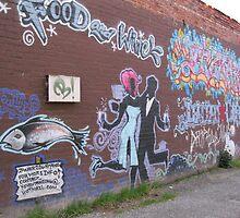 Dancin' in the alley by abigcat
