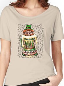 St Patrick's Day Beer Women's Relaxed Fit T-Shirt