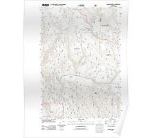 USGS Topo Map Oregon Lehman Springs 20110822 TM Poster