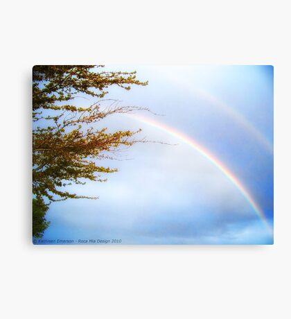 Double Rainbow 2 Canvas Print