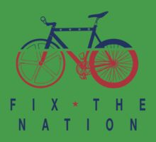 Fix The Nation Fixed Gear One Piece - Short Sleeve