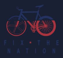 Fix The Nation Fixed Gear Kids Clothes