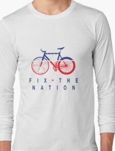 Fix The Nation Fixed Gear Long Sleeve T-Shirt