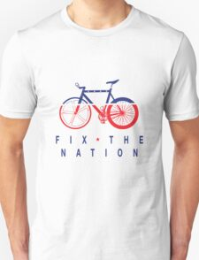 Fix The Nation Fixed Gear Unisex T-Shirt