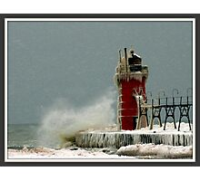 South Haven Lighthouse Photographic Print