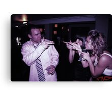 007 at the Club Canvas Print