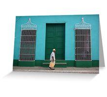 Trinidad Streetscape, CUBA Greeting Card
