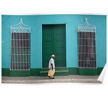 Trinidad Streetscape, CUBA Poster