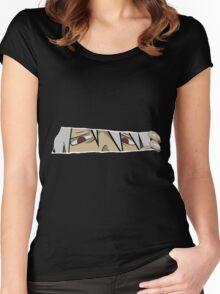 soul eater soul anime manga shirt Women's Fitted Scoop T-Shirt