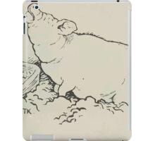 Theodor Kittelsen Grisen og levemaaten hans Eventyr1915p106 iPad Case/Skin