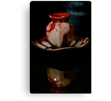 The Little Red Jar Canvas Print