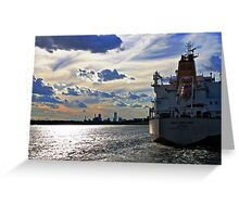 The New England - Majuro Greeting Card