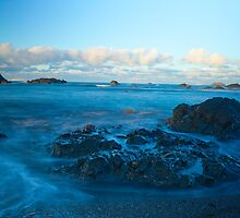 Pebble Beach - Crescent City California by Rick Gustafson