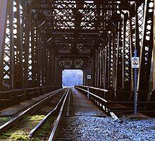 train bridge by heyheymandykay