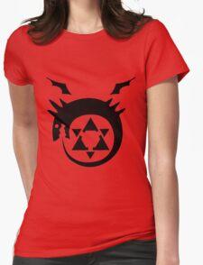 Full Metal Alchemist Brotherhood FMA Alchemy 101 Edward Elric Anime Cosplay T Shirt Womens Fitted T-Shirt