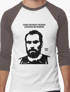 Chins without Beards - 2011 Men's Baseball ¾ T-Shirt