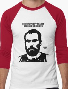 Chins without Beards - 2011 Men's Baseball ¾ T-Shirt