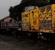 Train Carridge by Andrew (ark photograhy art)