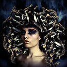 Medusa Once Was Beautiful... by Vanessa Barklay