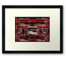 driven to distraction in the dull age Framed Print