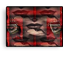driven to distraction in the dull age Canvas Print