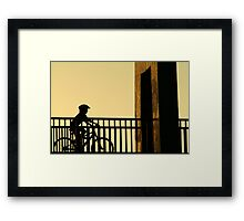 Out Riding Framed Print
