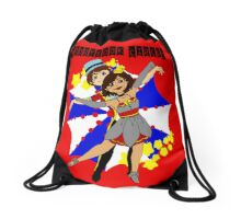 Circus Dreams Drawstring Bag