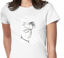 Study of dance Womens Fitted T-Shirt