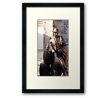 Hi Pardner! Have one on me! Framed Print