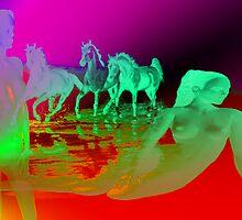 Girls & Equines. by Vitta