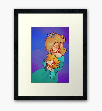 Baby star Framed Print