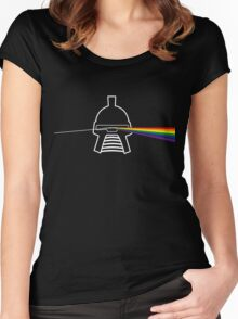 Dark side Women's Fitted Scoop T-Shirt