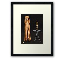 The Scream World Tour Oscars Framed Print