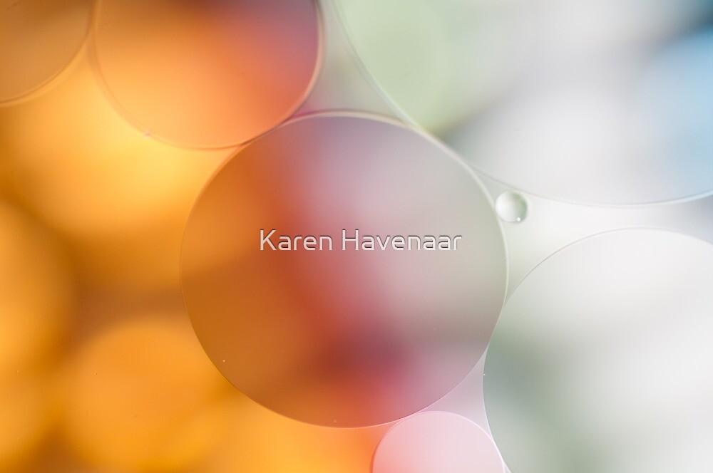 Pastel Bubbles by Karen Havenaar