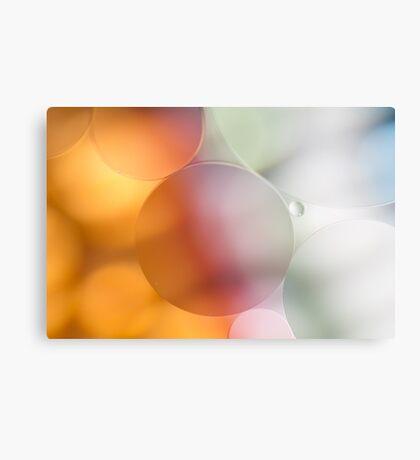 Pastel Bubbles Canvas Print